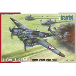 Breguet Br.693AB.2 French Attack-Bomber - 1/72 kit