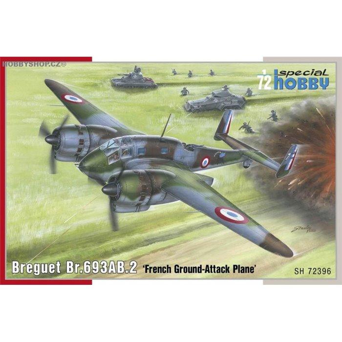 Breguet Br.693AB.2 French Attack-Bomber - 1/72 kit