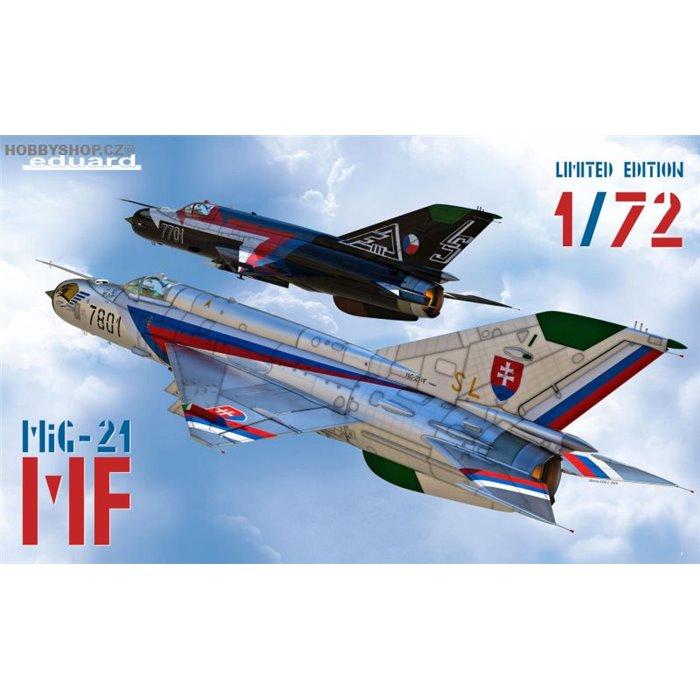 MF MiG-21  in Czech and Czechoslovak service  DUAL COMBO - 1/72 kit