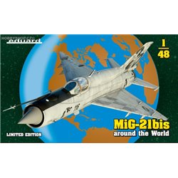 MiG-21BIS around the World Limited - 1/48 kit