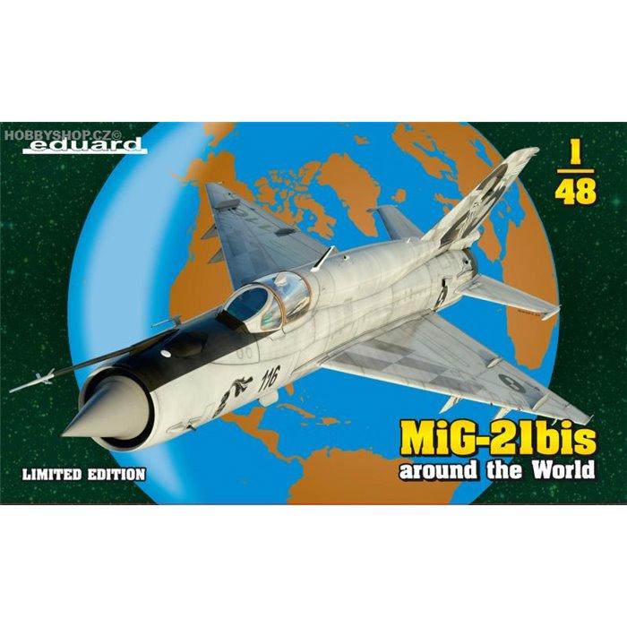 MiG-21BIS around the World Limited - 1/48 kit