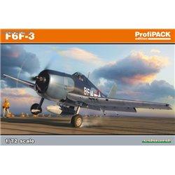 Grumman F6F-3 Hellcat ProfiPACK - 1/72 kit
