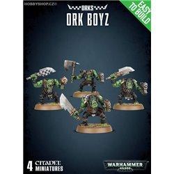 Easy to build  Ork Boyz