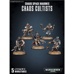 Easy to build  Chaos Space Marine Chaos Cultist