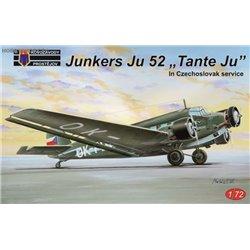Ju 52 in Czechoslovak service - 1/72 kit