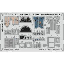 Hurricane Mk.I S.A. - 1/72 painted PE set