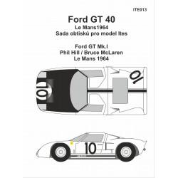 Ford GT40 LeMans 1964 obtisky