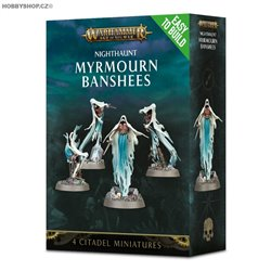 Easy to build Nighthaunt Myrmourn Banshees