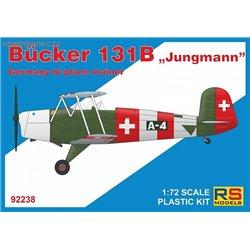 Bücker 131  Jungmann - 1/72 kit