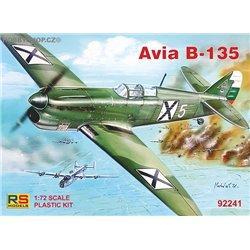 Avia B-135 - 1/72 kit