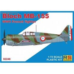 Bloch MB-155 - 1/72 kit