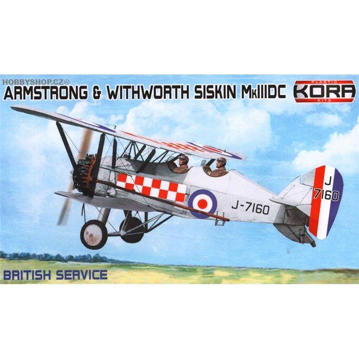 A&W Siskin Mk.IIIDC British Service - 1/72 kit