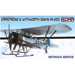 A&W Siskin Mk.IIIDC Estonian Service - 1/72 kit