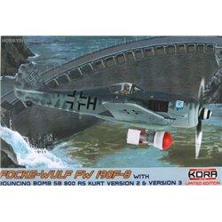 Focke-Wulf Fw 190F-8 with SB 800RS Kurt - 1/72 kit