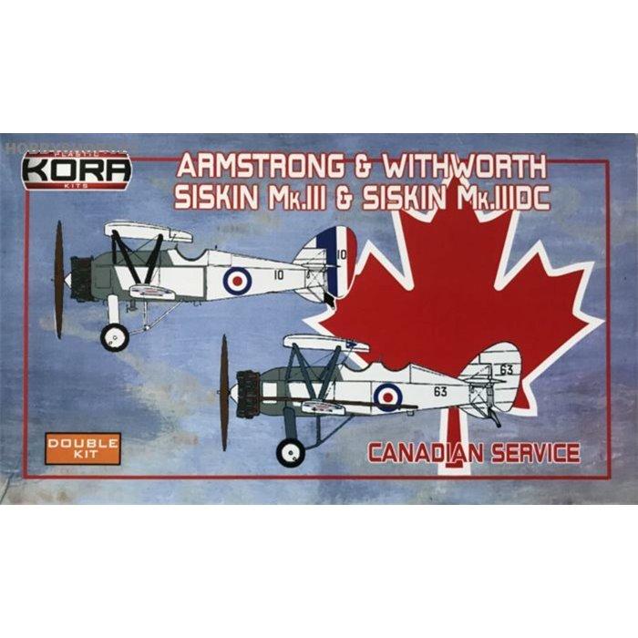 A&W Siskin Mk.III/Mk.IIIDC Canadian Service 2 in 1 - 1/72 kit