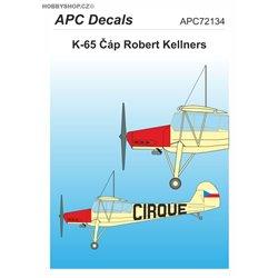 K-65 Čáp Kellners - 1/72 decal
