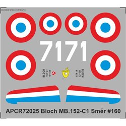 Bloch MB.152 - 1/72 decal
