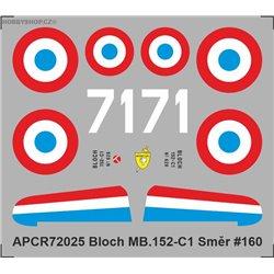 Bloch MB.152 - 1/72 obtisk