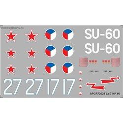Lavočkin La-7 - 1/72 obtisk
