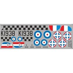 Hawker Fury - 1/72 decal