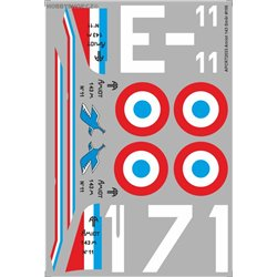 Amiot 143 - 1/72 decal