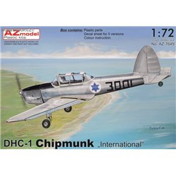 DHC-1 Chipmunk 'International' - 1/72 kit