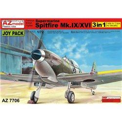 Spitfire Mk.IX/XVI Joypack 3in1 - 1/72 kit