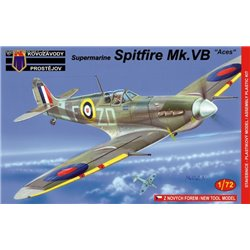 Supermarine Spitfire Mk.Vb 'Aces' - 1/72 kit