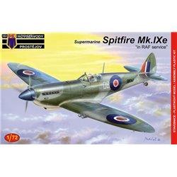 Spitfire LF Mk.IXe 'in RAF service' - 1/72 kit