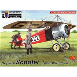 Sopwith Scooter 'Monoplane No.1' - 1/72 kit