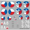 Letov S-328 - 1/72 decal
