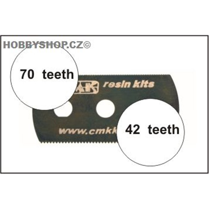 Ultra smooth and extra smooth saw (2 sides) 1pc.