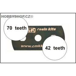 Ultra smooth and extra smooth saw (2 sides) 5pcs.