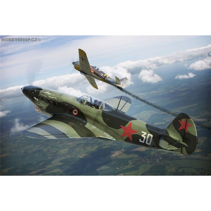 Yak 1b GC-3 Normandie - 1/72 kit