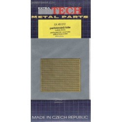 Perforated foil - ovals - 1/48 PE set