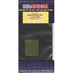 Perforated foil - ovals - 1/72 PE set
