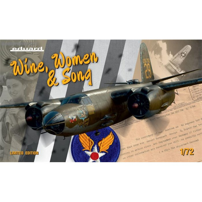 WINE, WOMEN & SONG limited edition - 1/72 kit