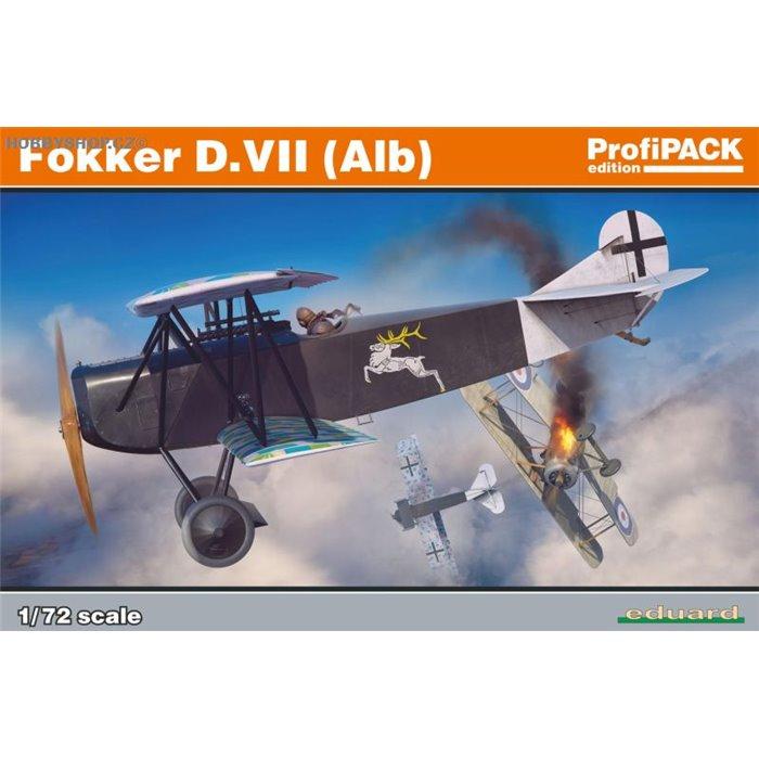 Fokker D.VII (Alb) ProfiPACK - 1/72 kit