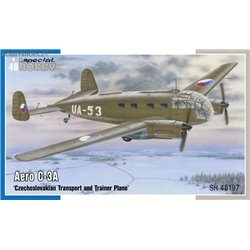 Aero C-3A Transport and Trainer plane - 1/48 kit