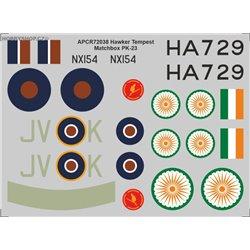 Hawker Tempest - 1/72 obtisk