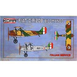Fiat C.R.20B Bicomando - 1/72 kit