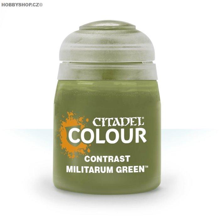 Contrast: Militarum Green 18ml