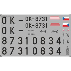 LF-107 Lunak CZ - 1/48 decal
