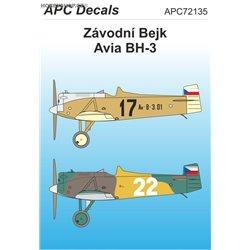 Závodní Bejk - 1/72 decal