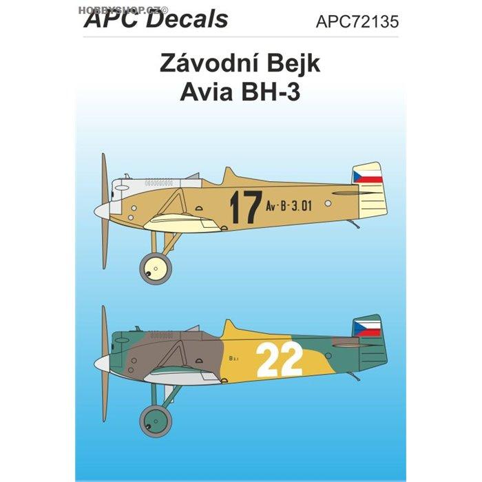Závodní Bejk - 1/72 obtisk