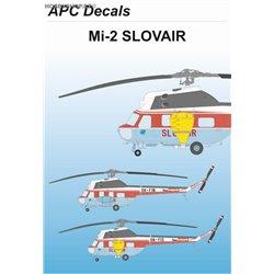 Mil Mi-2 Slovair - 1/72 decal