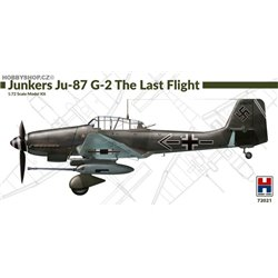 Junkers Ju 87G-2 The Last Flight - 1/72 plastic kit
