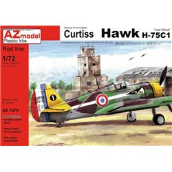 "Curtiss Hawk H-75C1 ""Over Africa"" - 1/72 kit"