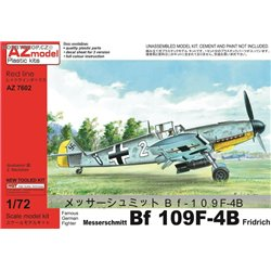 Bf 109F-4B Bomber Fridrich - 1/72 kit