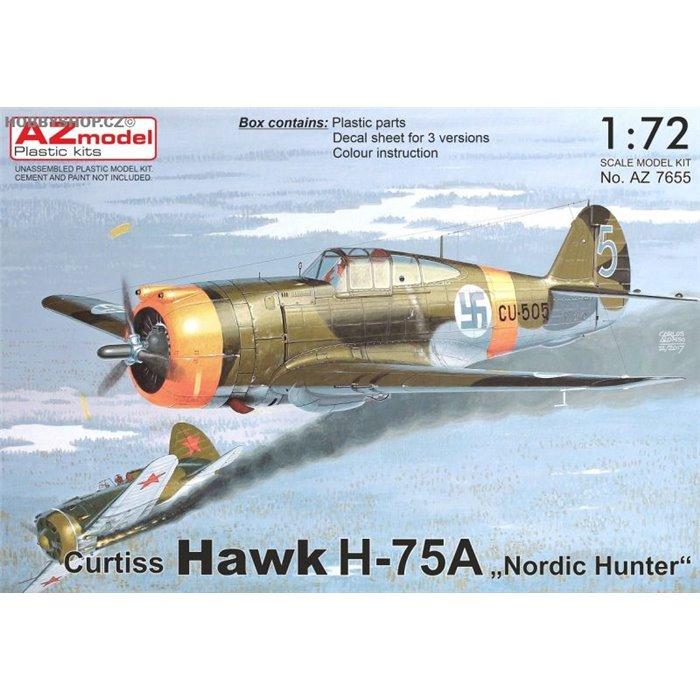 """Curtiss Hawk H-75A """"Nordic Hunter"""" - 1/72 kit"""